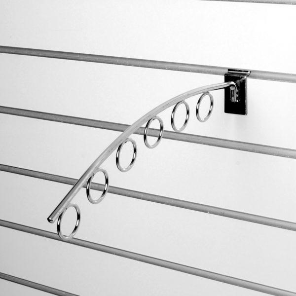 Кронштейн наклонный с кольцами - 6 - навеска для экономпанели