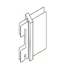 Держатель для панели (штука) - Системы перфорированный стоек для изготовления торгового оборудования Basis / Slim / PP / Light