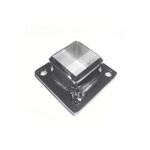Квадратный крепеж к полу/стене