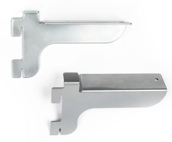 Полкодержатель для стеклянных полок (пара) - Системы перфорированный стоек для изготовления торгового оборудования Basis / Slim / PP / Light