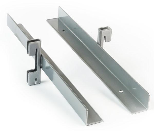 Полкодержатель внутренний (пара) - Системы перфорированный стоек для изготовления торгового оборудования Basis / Slim / PP / Light