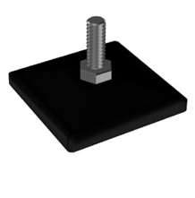 Ножка завинчивающаяся - Системы перфорированный стоек для изготовления торгового оборудования Basis / Slim / PP / Light