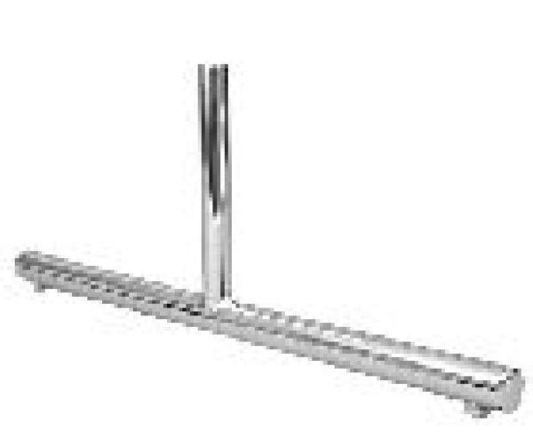 Торговое оборудование: решётки - Опора Т-образная, металлическая