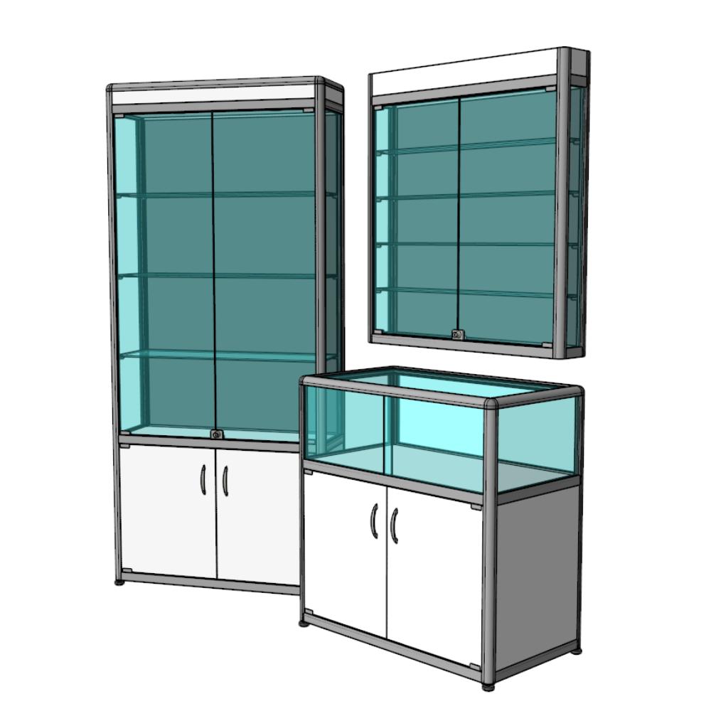 Изготовление мебели с использованием алюминиевого профиля