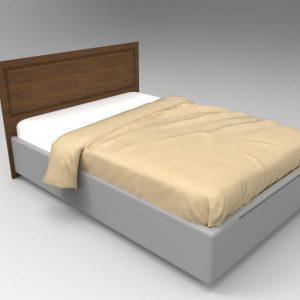 """Изголовье для кровати """"Морёная берёза"""""""