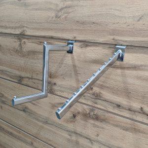 Интерьерные панели с пазами для навески и аксессуаров
